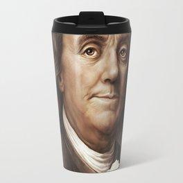 President Ben Franklin Travel Mug
