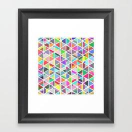 unfolding 4 Framed Art Print
