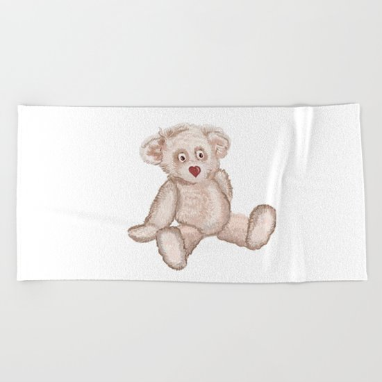 Bear Beach Towel