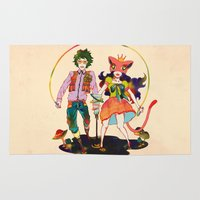 lsd Area & Throw Rugs featuring LSD love by Natsuki Otani
