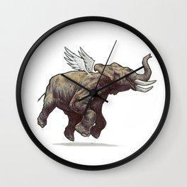 air-elephant Wall Clock