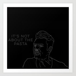 DJ PASTABOI Art Print