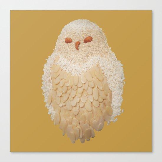 Owlmond 3 Canvas Print