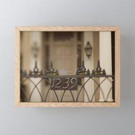 New Orleans 1239 Gate Framed Mini Art Print