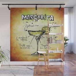 Margarita Wall Mural