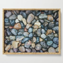 Sea Pebbles Serving Tray