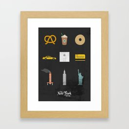 """This is New York for me. """"All"""" Framed Art Print"""