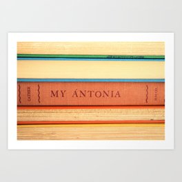My Antonia Art Print