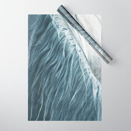 Horse mane photography, fine art print n°1, wild nature, still life, landscape, freedom Wrapping Paper