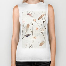 Feather Tree Biker Tank