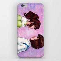 chihiro iPhone & iPod Skins featuring Chihiro and Haku by Kimberly Castello