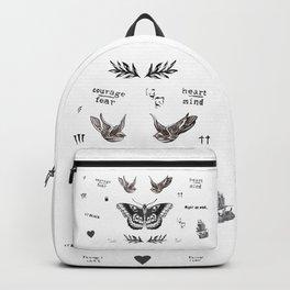 Tattoo à la Harry Backpack