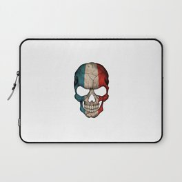 Exclusive France skull design Laptop Sleeve