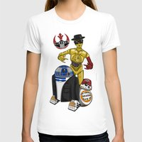 beastie boys T-shirts featuring Beastie Droids by JVZ Designs