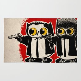 Owls Pulp Fiction Rug