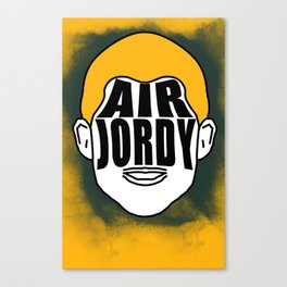 "Jordy Nelson ""Air Jordy"" Canvas Print"