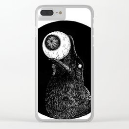 How the Blind Crow Sees Clear iPhone Case
