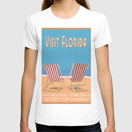 Florida Vintage Travel Poster T-shirt