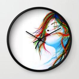 Wind Wall Clock