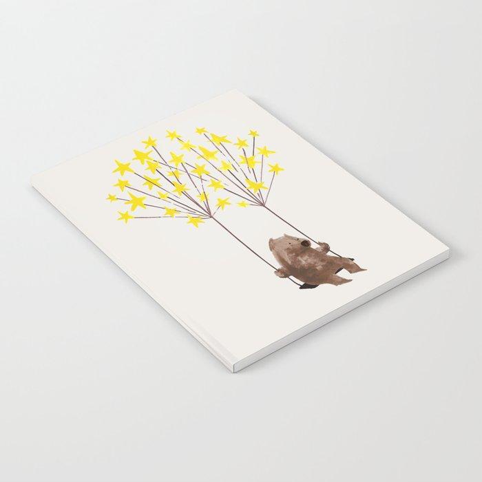 Stars Swing Notebook