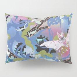 Illuminated Bat Pillow Sham