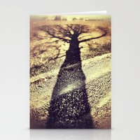 shadow Stationery Cards featuring Shadow by Jessica Morelli