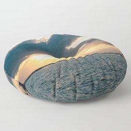 Island Sunset Floor Pillow