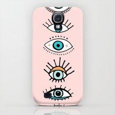 eye illustration print Slim Case Galaxy S4