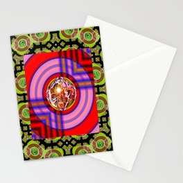 Porthole to the Coast Stationery Cards