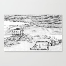 Star Island Sketch Canvas Print