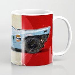 Le Mans Racetrack Vintage Coffee Mug
