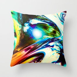 """Speed Unleased"" Throw Pillow"