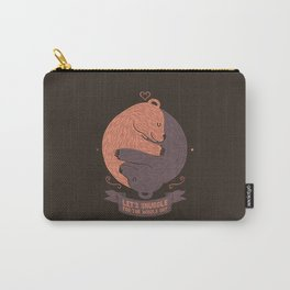Let's Snuggle For The Holy Day Carry-All Pouch