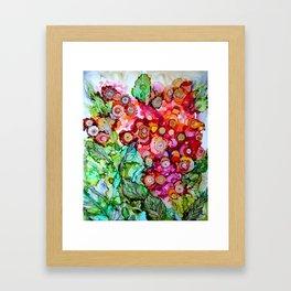 Des fleurs pour toi Framed Art Print
