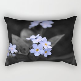 Forget Me - Not Rectangular Pillow