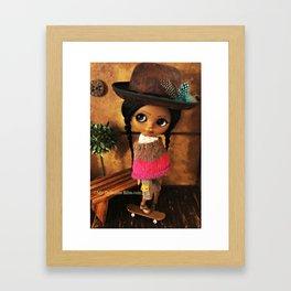 My Delicious Bliss Custom Doll Evangeline Framed Art Print