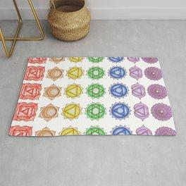 Chakra Pattern Rug