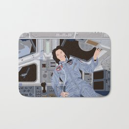 Sally Ride, first American woman in space Bath Mat