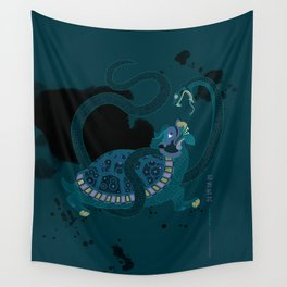 Black Warrior of the North Wall Tapestry