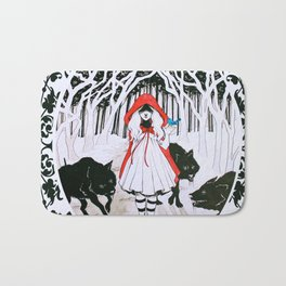 Amongst Wolves Bath Mat