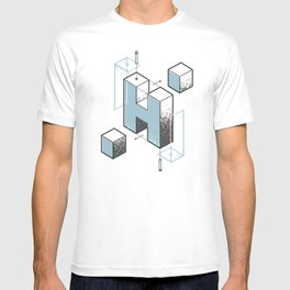 The Exploded Alphabet / H T-shirt