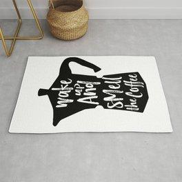 Coffee Art, Coffee Printable, Coffee Print, Digital Print, Kitchen Art, Coffee Art Print, Coffee Quo Rug