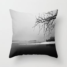 One Winter Morning Throw Pillow