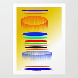 Clack Art Print
