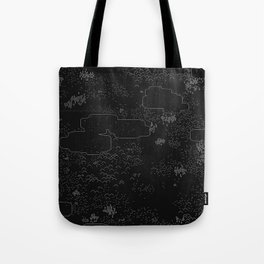 land of 15 towns and a cemetary · negative ⎌ Tote Bag