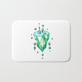 Little Emerald World Bath Mat