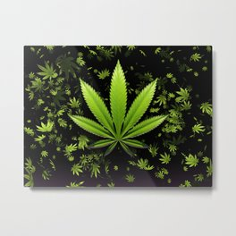 Sweet leaf Falls Metal Print