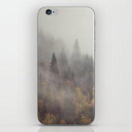 Foggy Elephant Mountain iPhone Skin