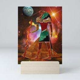 Ancient Secrets THOTH 3D Scifi Egyptian Mini Art Print