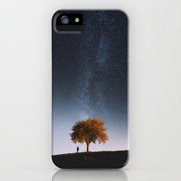 Light and Magic 001 // Tree Gazer iPhone Case